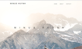 Minus Huynh - New website - www.minus-huynh.com <br />                                 Webdesign